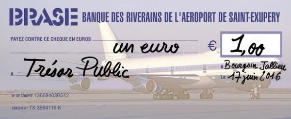 Chèque Saint-Exupéry